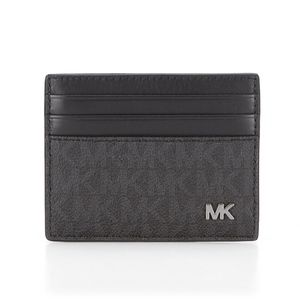 Michael Kors Jet Set Tall Card Case - Black